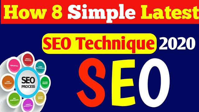 My Life, My Job, My Career: How 8 Simple Latest SEO Techniques 2021 Helped Me Succeed