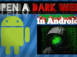 How To access the dark web on a mobile phone