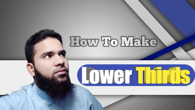 How To Make Social Media Lower Thirds Free Download [WT1] Hindi