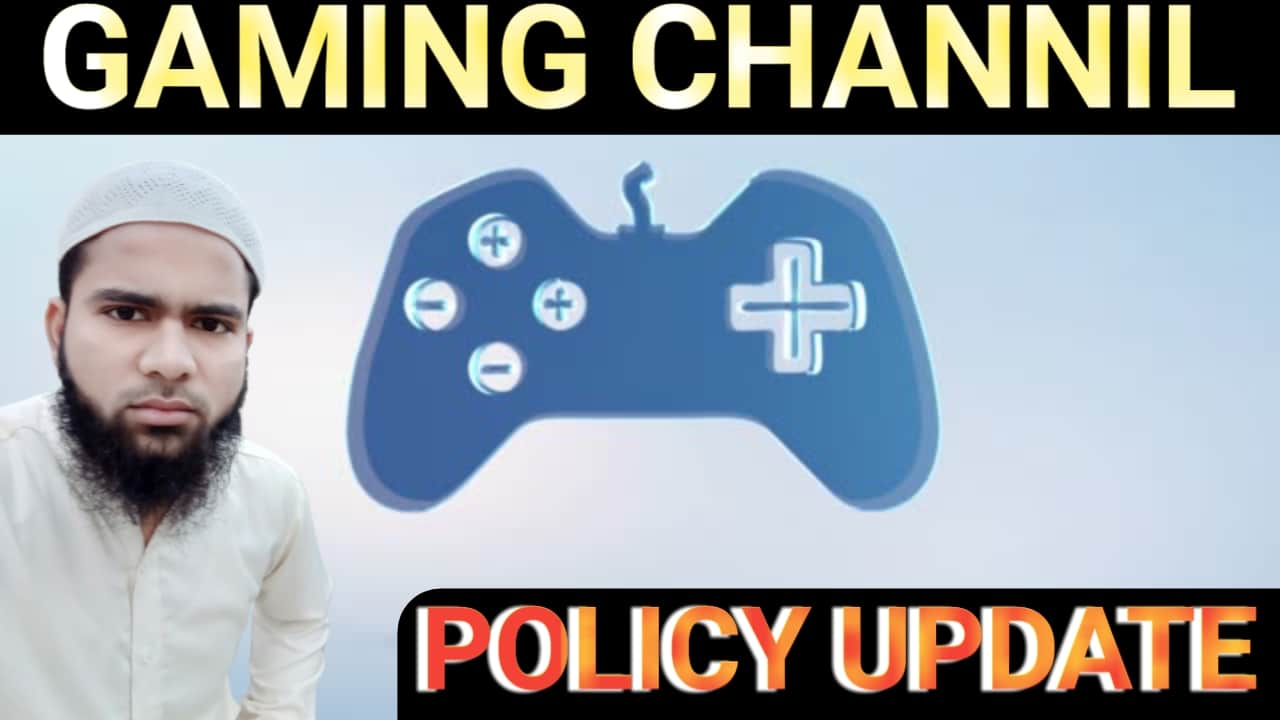 All Gaming Channel Monetization Policy Update on YouTube